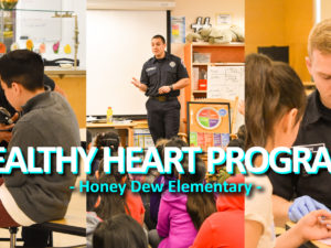 Healthy Heart Program Visits Honey Dew Elementary