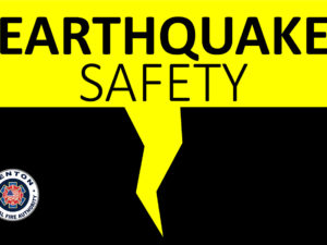 Earthquake Safety Tips